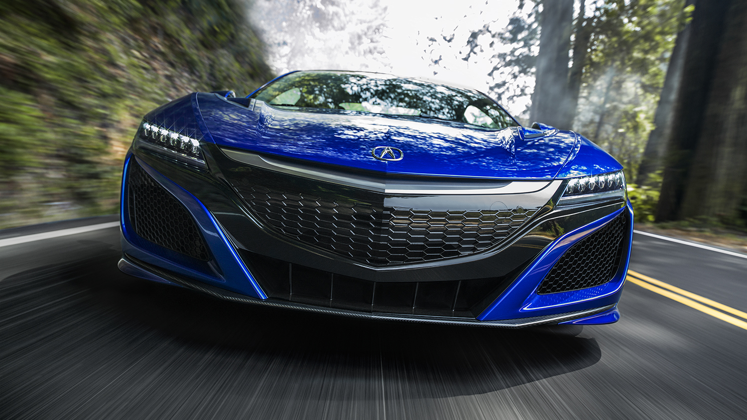2017 Acura NSX Exterior Front Grille