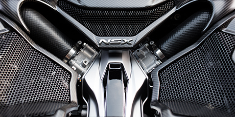 2017 Acura NSX Hand-Assembled Engine