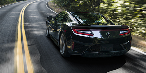 2017 Acura NSX Super Handling All-Wheel Drive