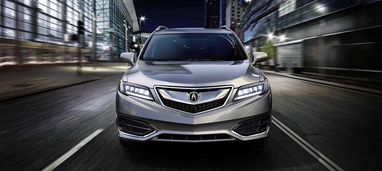 2018 Acura RDX Exterior Front Angle Night