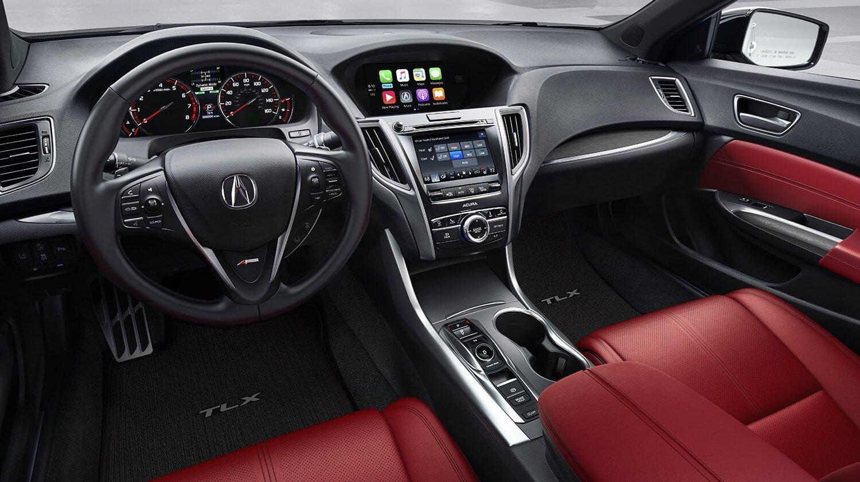 2018 Acura TLX Interior A-SPEC