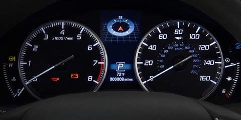 2018 Acura RDX Multi-Information Display