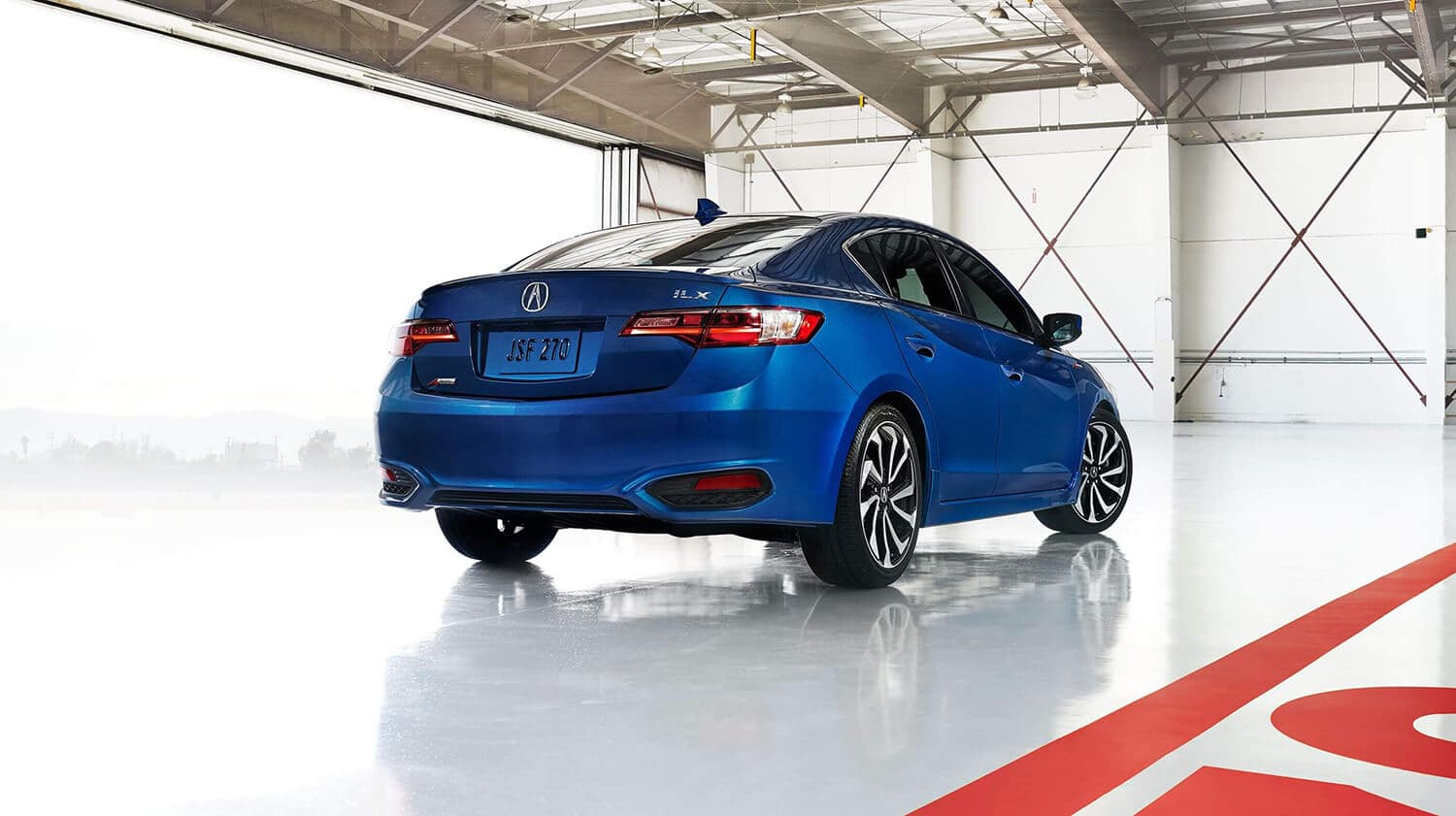 2018 Acura ILX Exterior Rear Angle Passenger Side