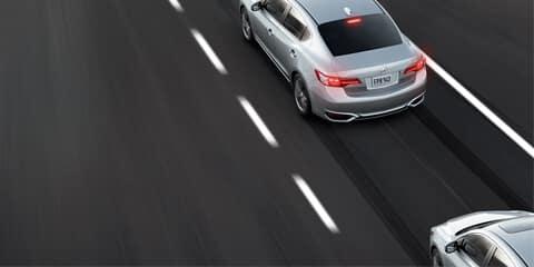 2018 Acura ILX Collision Mitigation Braking System