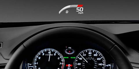 2018 Acura RLX Head-Up Display