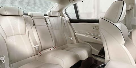 2018 Acura RLX Rear Seating