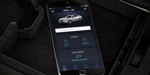 2018 Acura RLX Smartphone Connectivity