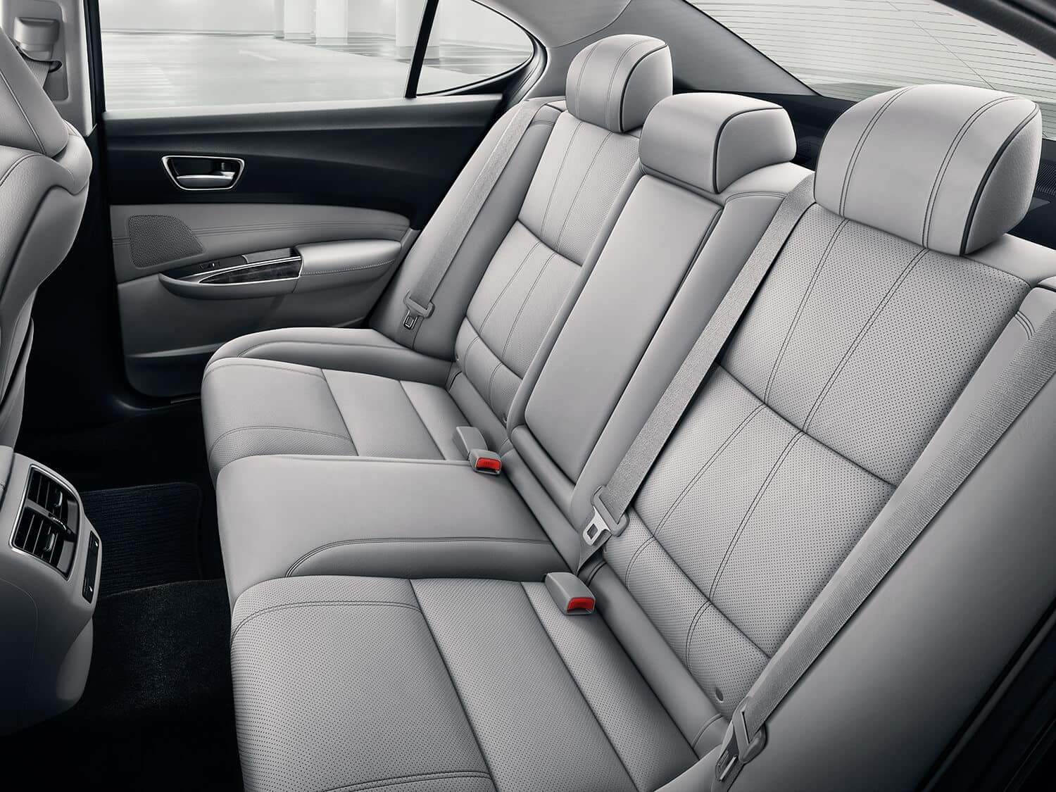 2019 Acura TLX Interior Rear Seating