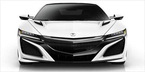 2018 Acura NSX Front Design