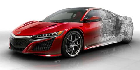 2018 Acura NSX Multi-Material Body