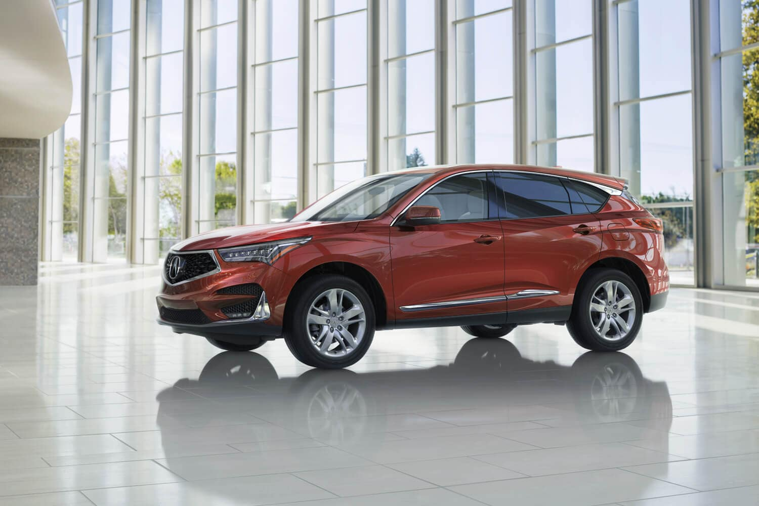 2019 Acura RDX Exterior Driver Side Red