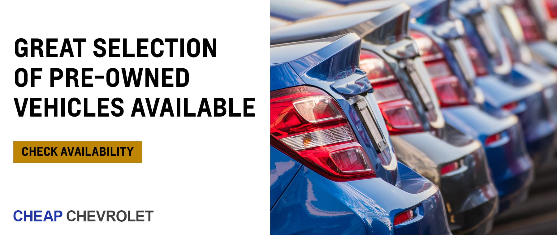 Great selection of Pre-Owned Vehicles Available