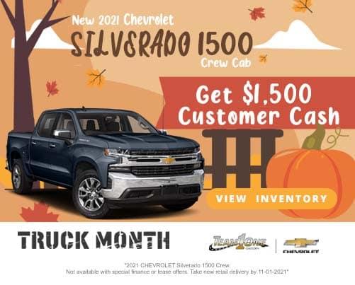 New 2021 Chevrolet Silverado