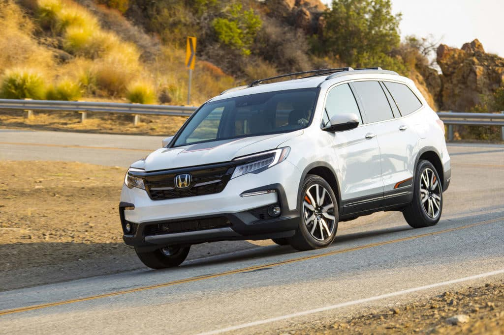 Honda Pilot Is The Mid Size Suv Of The Year Clawson Honda