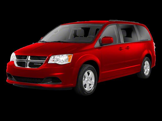 2012 Dodge Grand Caravan red exterior