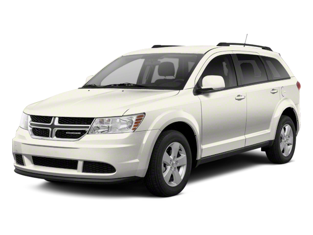 2012 Dodge Journey white exterior