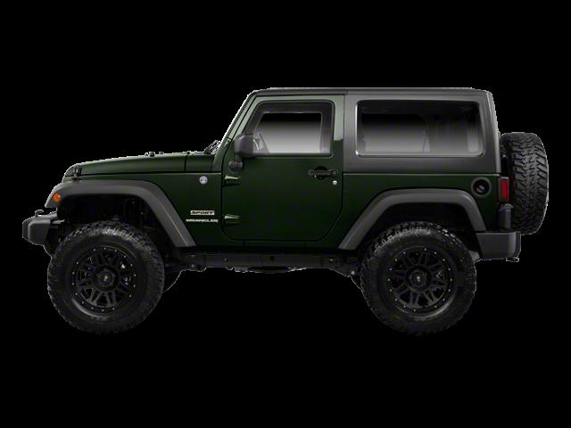 2012 Jeep Wrangler dark exterior