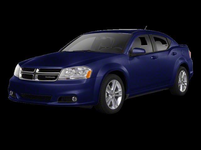 2012 Dodge Avenger blue exterior