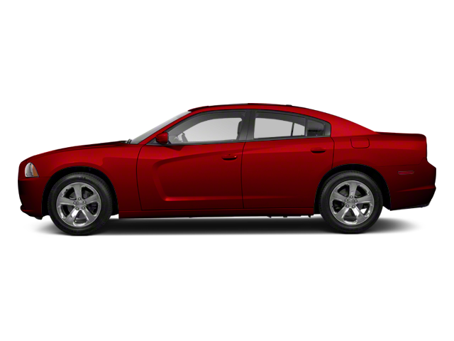 2012 Dodge Charger red exterior