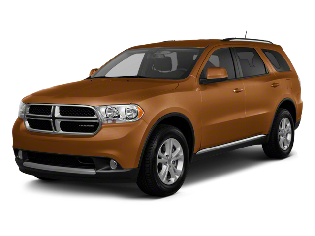 2012 Dodge Durango white background