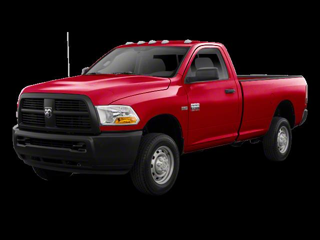 2012 Ram 2500 red exterior