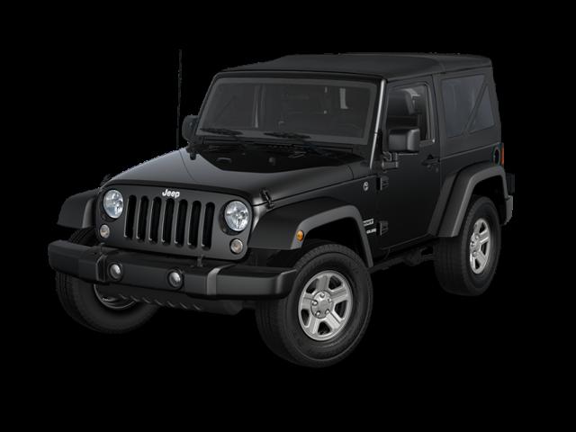 2016 Jeep Wrangler black exterior