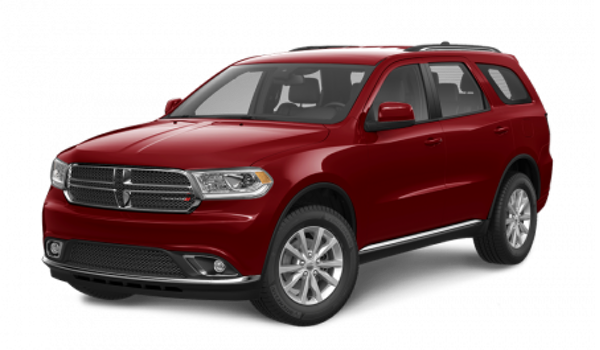 2016 Dodge Durango red exterior