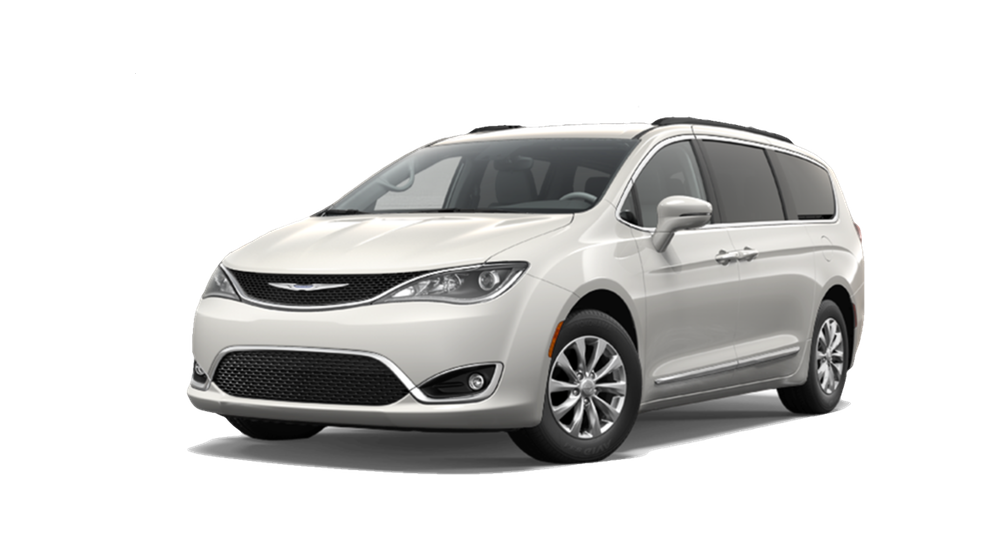 2017 Chrysler Pacifica white exterior