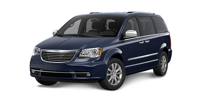 2016 Town and Country blue exterior