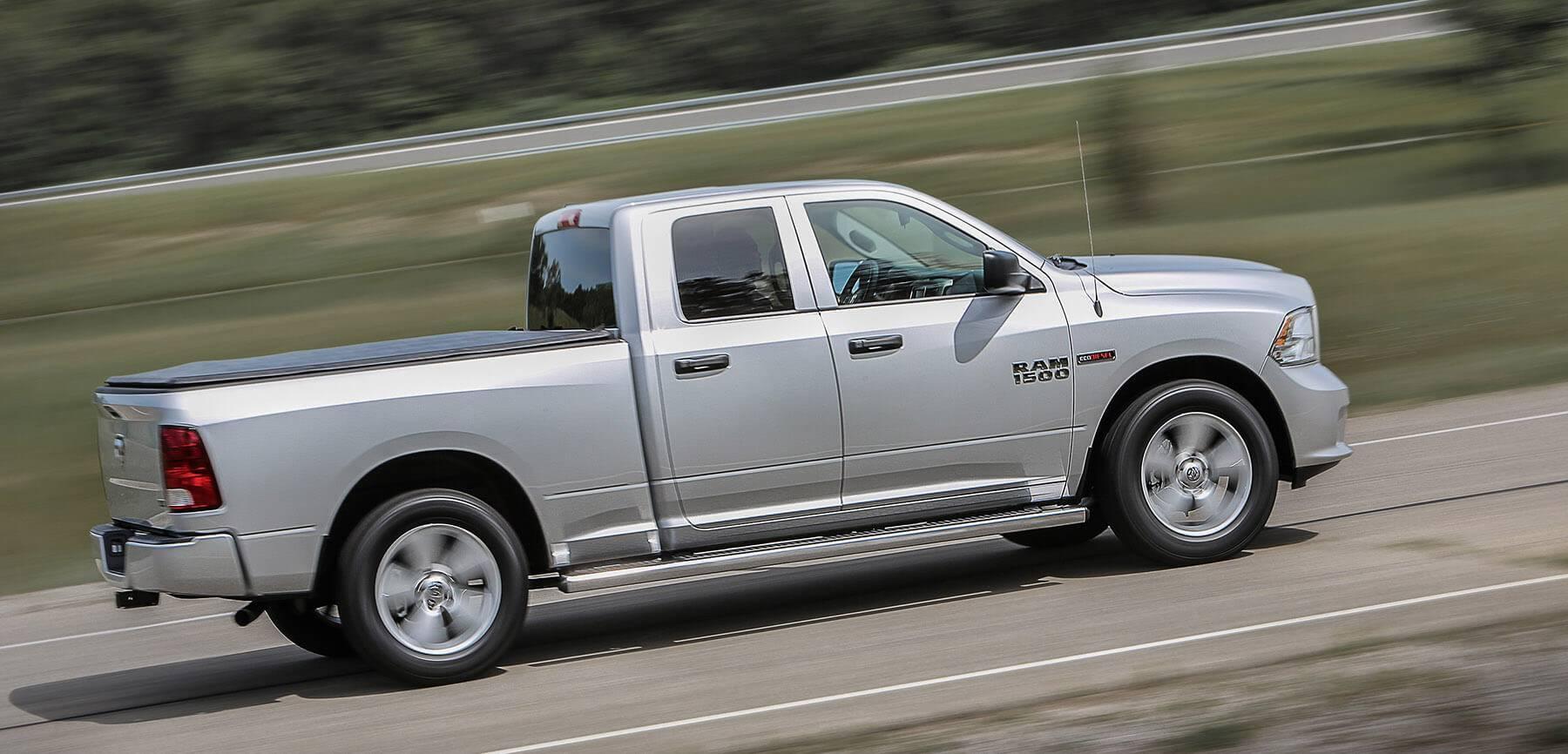 2016 Ram 1500 driving