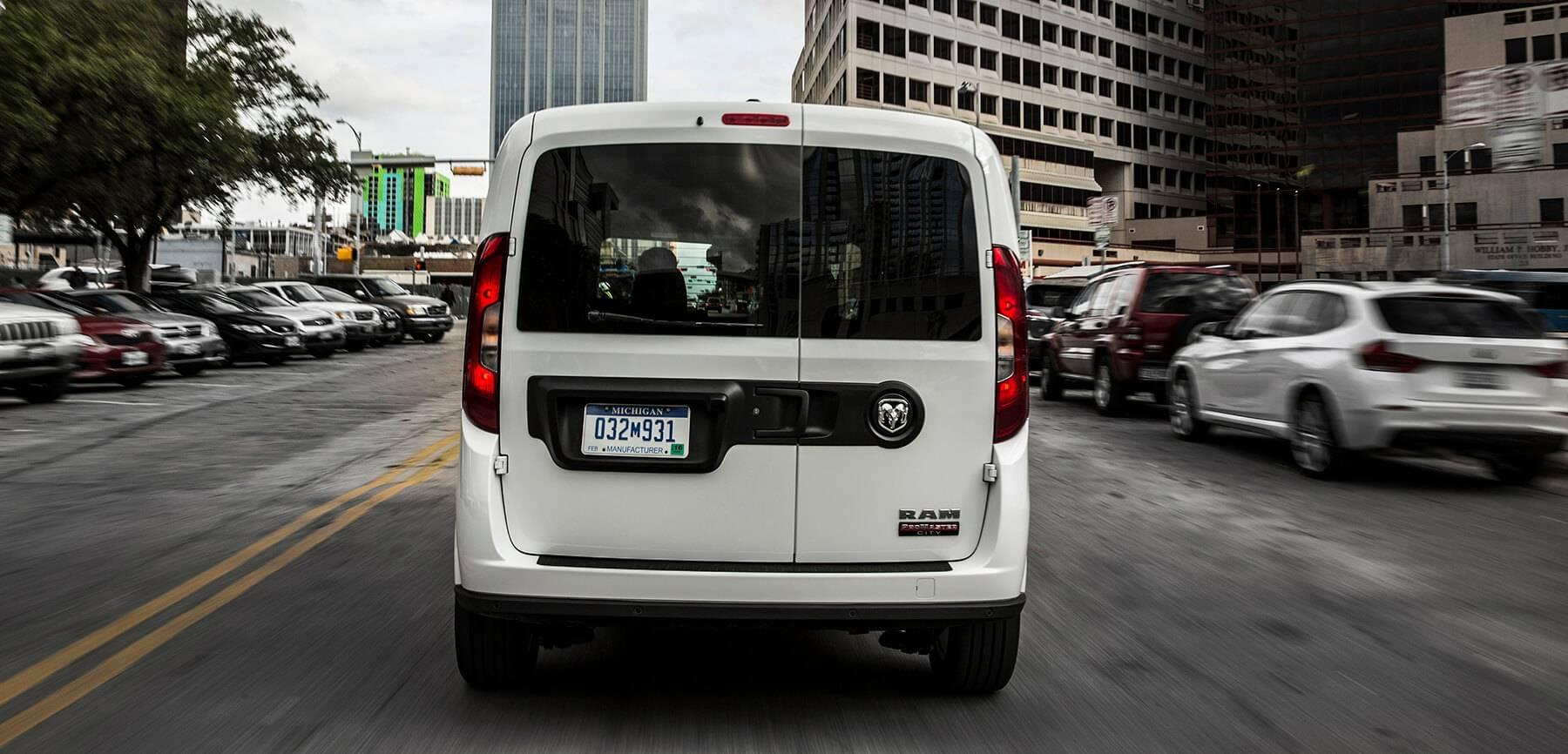 2016 Ram ProMaster City rear