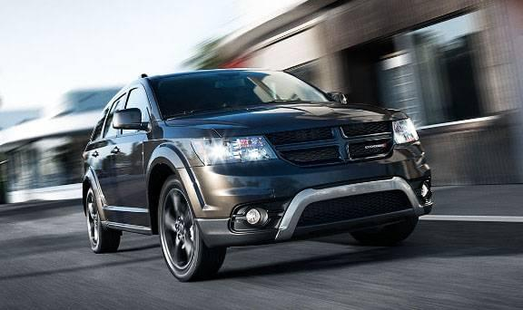 2017 Dodge Journey Driving