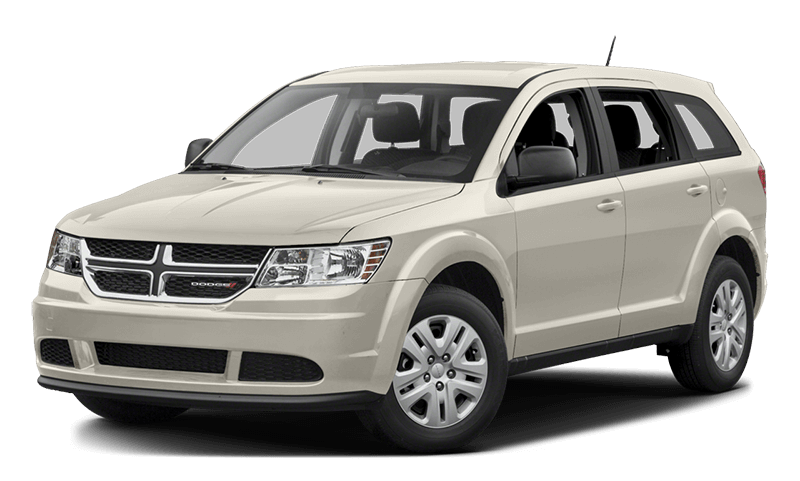 2017 Dodge Journey White