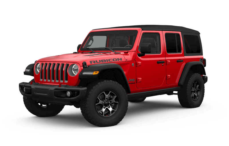 2018 Jeep Wrangler Canada Firecracker Red