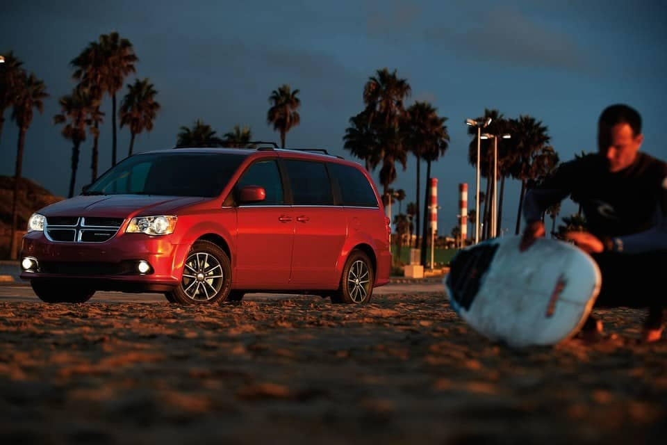 2019 Dodge Grand Caravan at beach