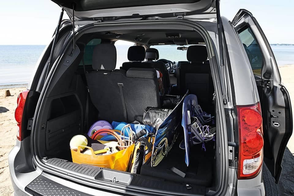 2019 Dodge Grand Caravan back interior