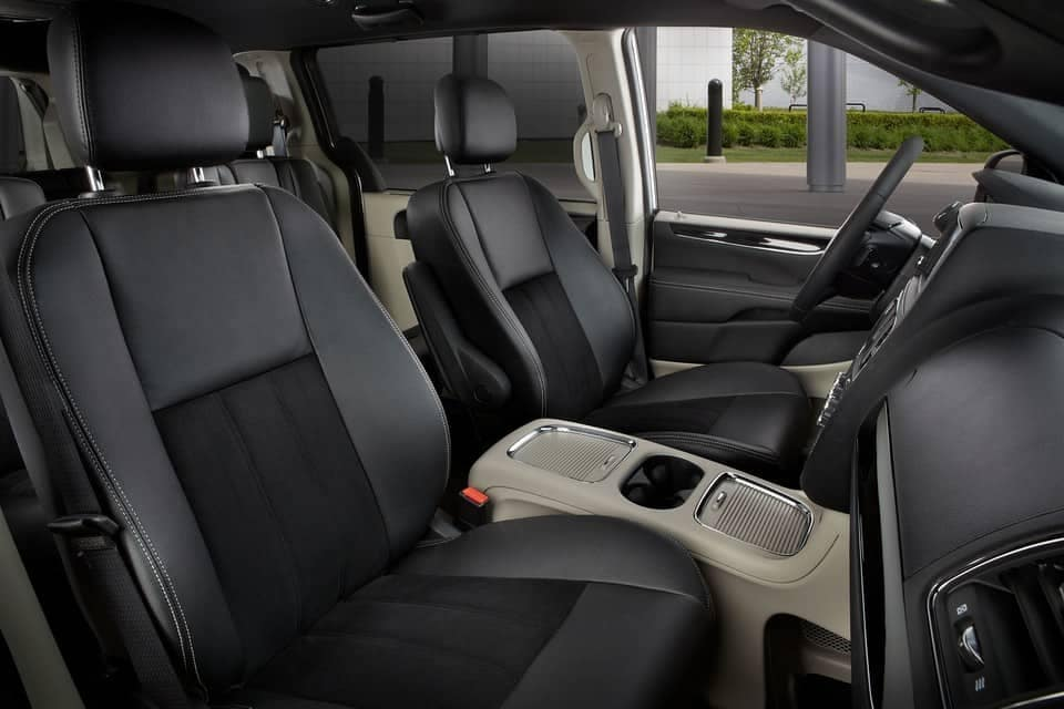 2019 Dodge Grand Caravan driver and passenger seats