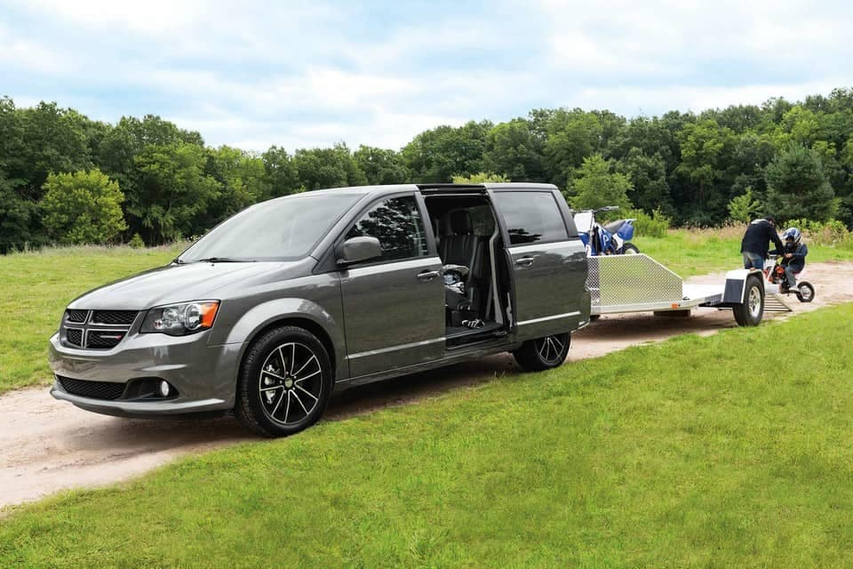 2019 Dodge Grand Caravan towing