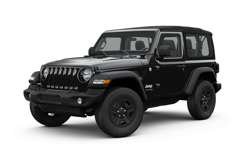 2019 Jeep Wrangler Black