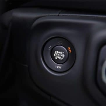 2019 Jeep Wrangler push button starter