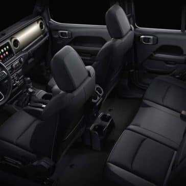 2019 Jeep Wrangler seating