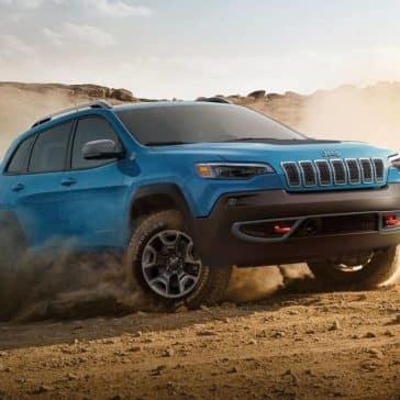 2019 Jeep Cherokee Canada Blue 4x4
