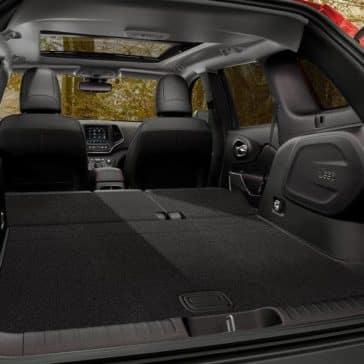 2019 Jeep Cherokee Canada cargo
