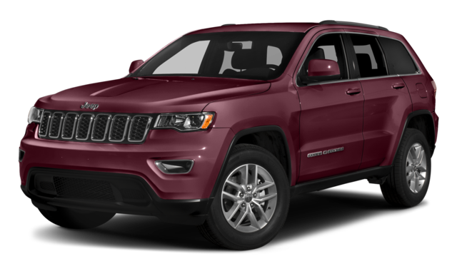 Burgandy Jeep Grand Cherokee