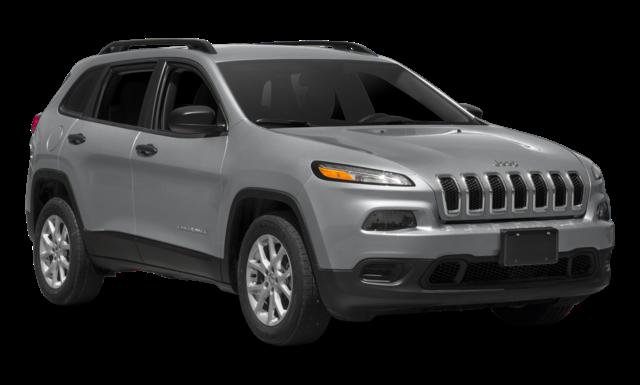 Silver Jeep Cherokee