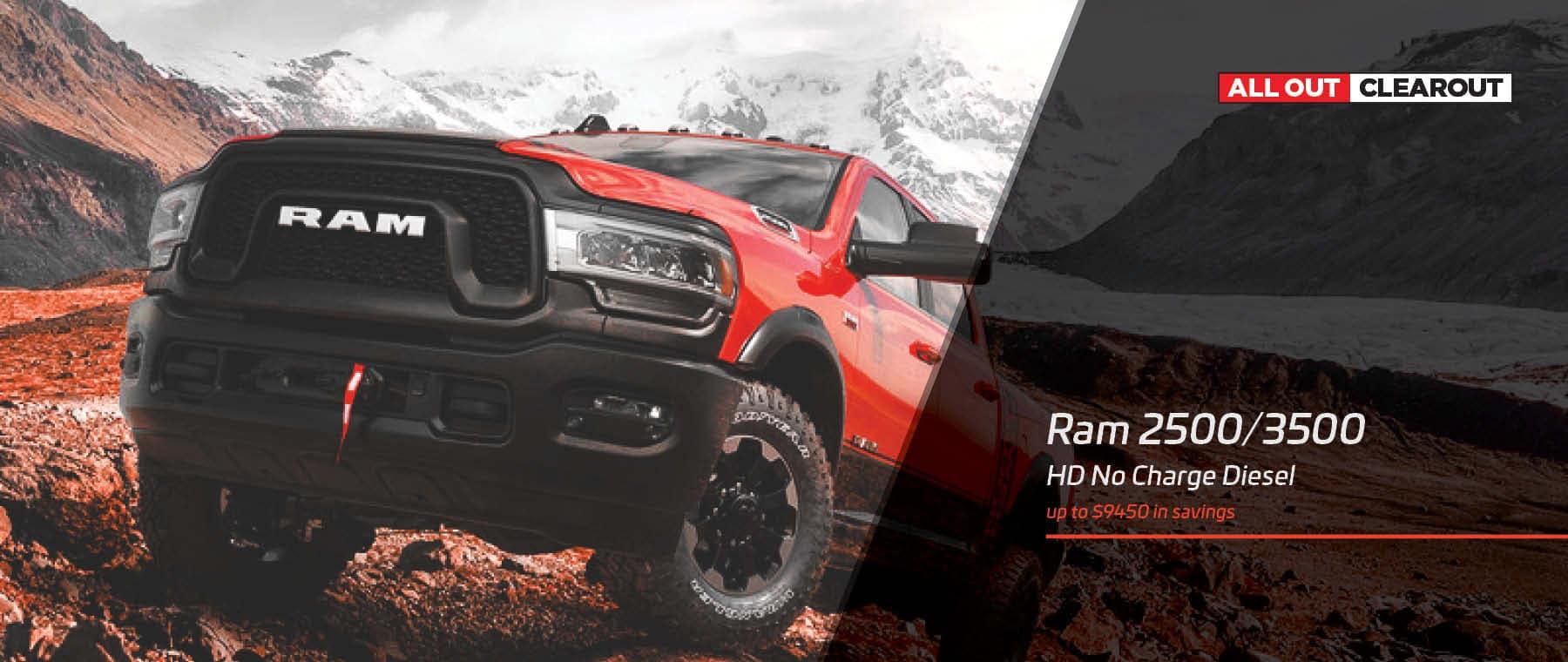 Ram Heavy Duty No Charge Diesel