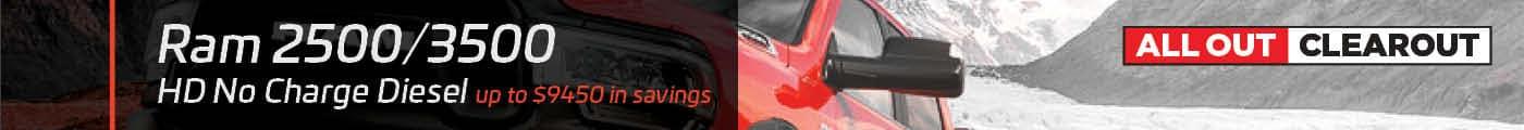 Ram HD No Charge Diesel