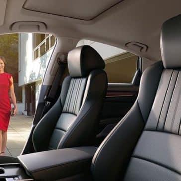 2018 Honda Accord rear interior