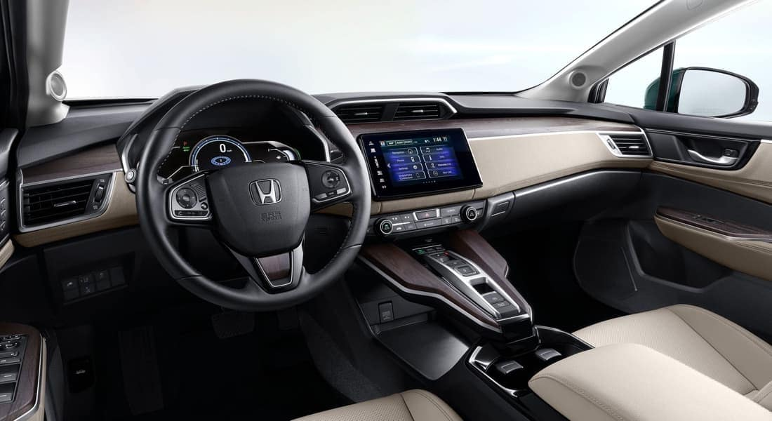 2018 Honda Clarity Plug-In Hybrid Interior View