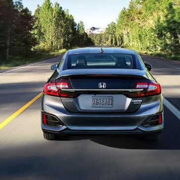 2018 Honda Clarity Plug-In Hybrid rear exterior